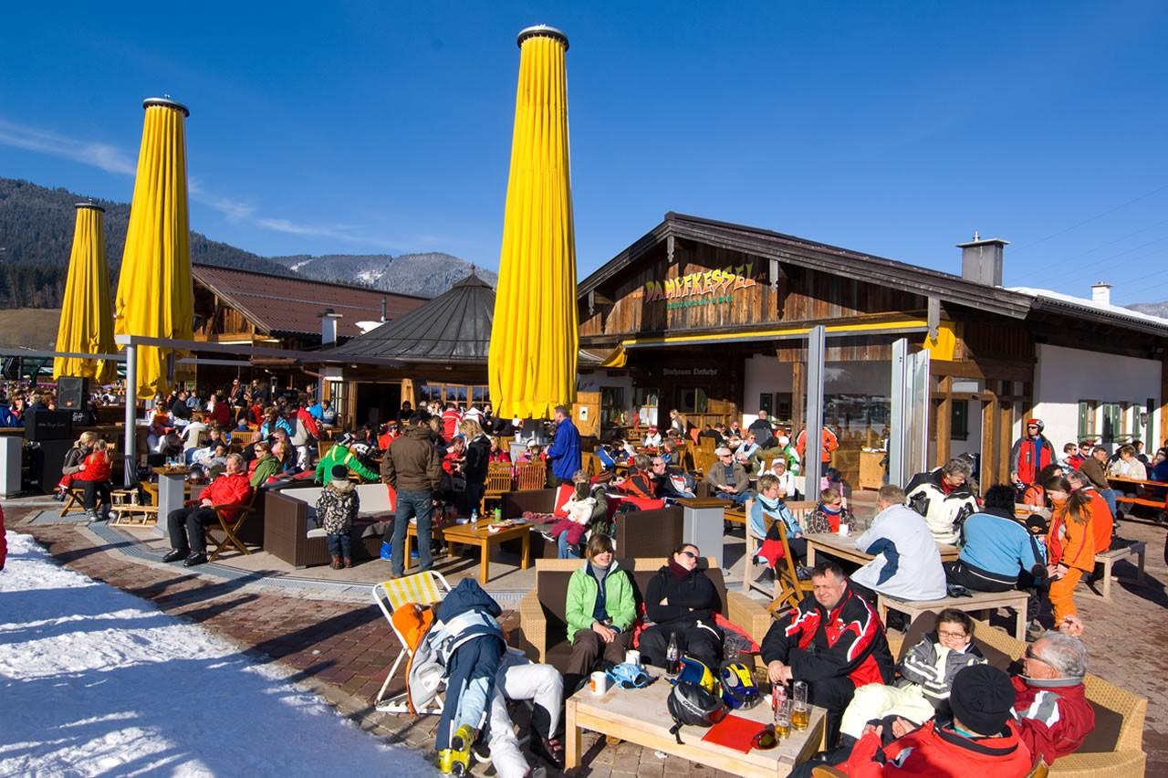 Après Ski im Dampfkessel, Kaml Gastronomie